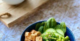 Foto de la receta de Poke vegano de Irene-Guirao