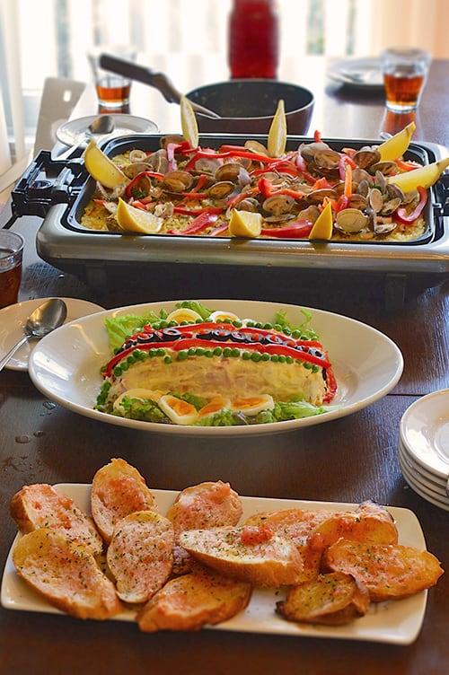 Cocina espa a fiesta de paella la cocina de hoy - La cocina madrid ...