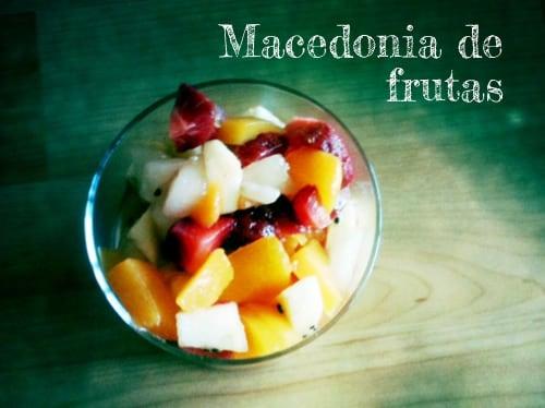 Postres cocinar para ni os - Macedonia de frutas para ninos ...