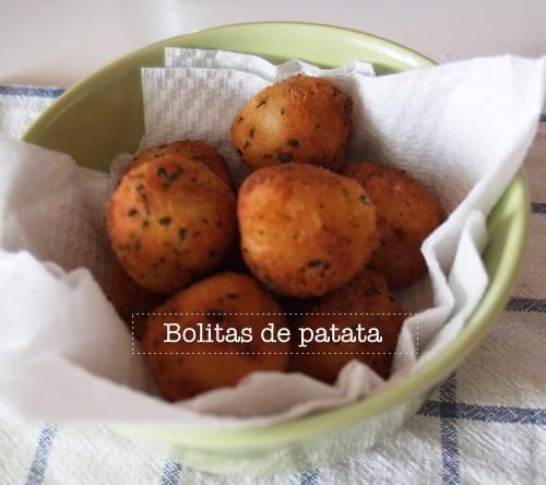 Receta de bolitas de patata f cil cocinar para ni os for Facil de cocinar
