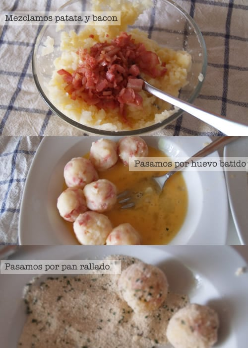 Receta de bolitas de patata f cil cocinar para ni os for Comidas rapidas sin cocinar